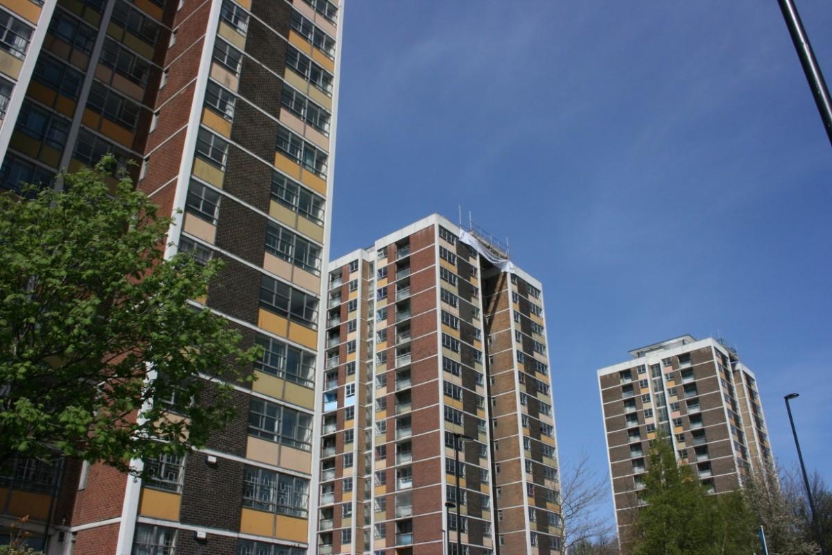 Cruddas Park Towers