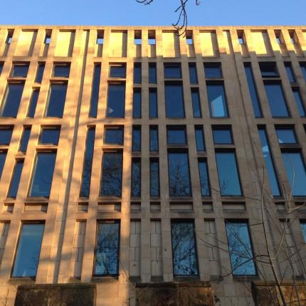 Palace Green Library stone facade