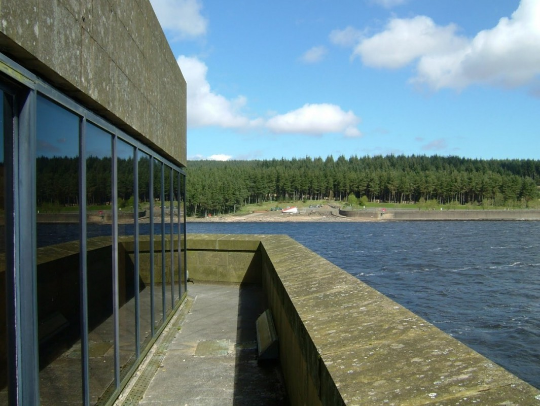 Kielder Valve Tower and Dam